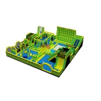 China Inflatable Amusement Park With Pop Obstacle Courses wholesale