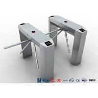 China RS485 Access Control Tripod Turnstile Gate , 304 SS Waist Height Turnstile wholesale