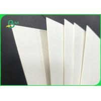 Quality 40pt 60pt 80pt Durable Uncoated Absorbent Paper For Disposable Paper Coaster for sale