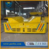China Steerable turning automated heat resistant trackless trolley with special table platform wholesale