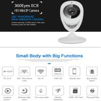 China EC8 HD 720P Mini Wifi IP Camera Wireless P2P Baby Monitor Network Remote CCTV Surveillance DVR Camera Playback on App wholesale