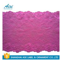 China Nylon Stretch Lace Embroidery Lingerie Lace Fabric For Underwear Dress Garments wholesale