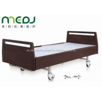 Quality Luxurious Hospital Sick Bed Double Cranks Wood Head Board MJSD06-05 for sale