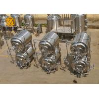 Quality Red Copper / SS Tank Small Brewery Equipment 500L 380V/220V 60HZ Power for sale