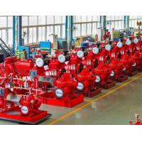China Large Capacity Ul Listed Fire Pumps / Bronze Fire Fighting Diesel Pump wholesale