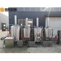 China Stainless Steel Brewhouse Equipment , 20HL Steam Heated Beer brewing Equipment wholesale