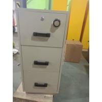 Quality 4 Drawer Fire Safe File Cabinet , Fire Resistant File Cabinet For Office Data for sale