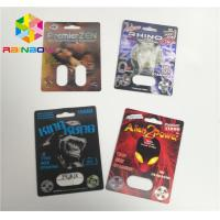 China Capsule Container Blister Card Packaging Sex Pills Power Tiller 69 7 3d 6000 on sale