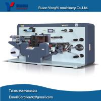 China YY-320 auto matic full servo label roll rotary flexible die cutting with sheeting machine wholesale
