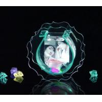 China Modern Clear Acrylic Fish Tank With Picture Frame For Gift , Engraving wholesale