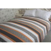 China vertical stripe   polycotton or full cotton duvet cover sets ---color  woven cloth wholesale