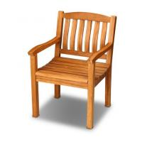 China outdoor furniture wooden armchair teak chair wholesale