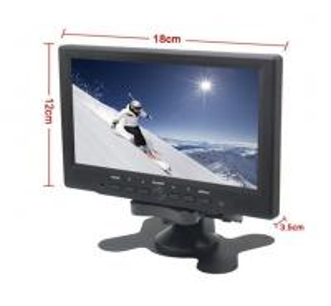 "Quality 7"" Digital TFT-LED Color Receiver  HDMI/VGA/AV Input Car/PC Monitor for sale"
