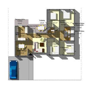 China Green Prefab Granny Unit Modular Home Cabin House Accommodation Carport Hotel ISO on sale