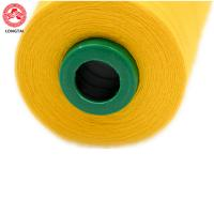 China High Tenacity Dyed 100% Spun Polyester Sewing Thread 40 S / 2 5000 Yarns wholesale