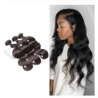 China Body Wave Bundles For One Women Head Malaysian Hair Extensions No Shedding wholesale