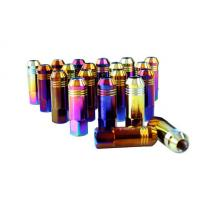 Quality Alloy / Carbon / Stainless Steel Auto Lug Nuts For Rims 60mm , 12 Months Warranty for sale