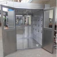 China IOS 5 Stainless Steel Clean Room Air Shower Tunnel Equipment With Vertical Blowing wholesale