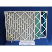 Quality G4 Disposable Cardboard Metal Air Filter Frames For Air Condition System for sale