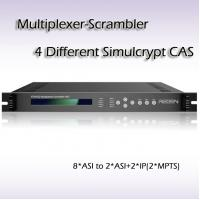China Digital TV TS Multiplexer-Scrambler AIO/6-Channel professional receiver DVB-T2 receiver wholesale