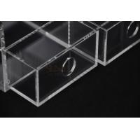 Quality Clear Commercial Store Fixtures 6 Compartments For Mix Makeup Store​ for sale