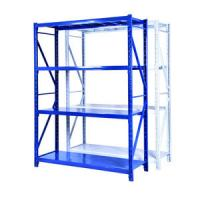 China 3 / 6 Multi Levels Book Storage Steel Pallet Teardrop Racks For Garments wholesale