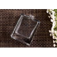 China Rectangular Glass Perfume Bottles made by High white lead free glass , Glass Spray Pump Bottle wholesale