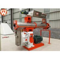 China SKF Bearing Feed Pellet Making Machine , SZLH420 10T/H Poultry Feed Production Machines wholesale