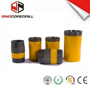 China Single Tube T2- 46 T2-76 T2 - 86 T2-101 Abrasive Hard Rock Used Diamond Drill Bits wholesale