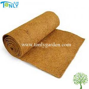 China Natural Coconut Fiber Roll Mat, Coco Liner Bulk Mat,Non Slip ice carpet wholesale