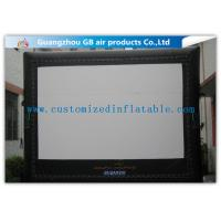 China 6 X 5m Inflatable Cinema Screen Projection Screen Rentals For Film Show wholesale