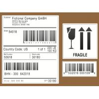 China Scratch Off Logistic Labels , Self Adhesive Sticky Labels For Express / Parcel wholesale