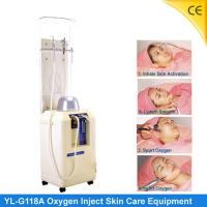 China Portable Oxygen Jet Peel Machine For Skin Rejuvenation , No Harm G118A wholesale