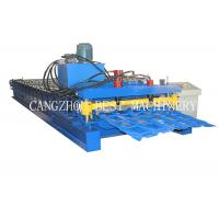 Buy cheap Bamboo Type Colored Glazed Roofing Tile Roll Forming Making Machine from wholesalers