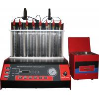 Quality Automatic Car Fuel Injector Cleaning Machine With Mono Injector ,8 cylinders, for sale