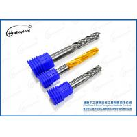 China HRC 45 50 60 65 Drill Mill End Mill , Cnc End Mill Bits For Metal Milling wholesale