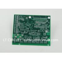 China Impedance Control Printed Circuit Board PCB Lead Free HASL Green Solder Mask wholesale