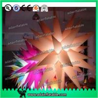 China Color Customed LED Lighting Inflatable Stars For Parties Decoration wholesale