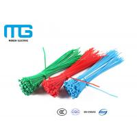 China Wiring Accessories Self-Locking Nylon Cable Ties With CE, UL Certification wholesale