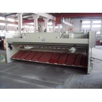 China Pneumatic plate hydraulic guillotine shearing machine , sheet metal cutting machine wholesale