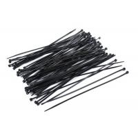 China 100 Pieces Nylon Zip Cable Ties Wraps High Tensile Strength OEM Service wholesale