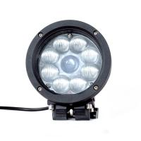 China Black Color Spot / Flood Beam LED Vehicle Work Light with 5.5 Inch 45w 12v High Intensity CREE Chips wholesale