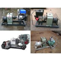 China low price Cable pulling winch, new type Powered Winches,Cable Winch wholesale