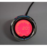 Quality Racing Exhaust Gas Temp Universal Auto Gauges With 60mm 7 Color Stepper Motor for sale