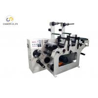 China Automatic two heads label rotary die cutting machine with slitting wholesale