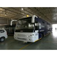 Quality Aluminum body airport transfer bus with cummins engine and thermo king air for sale