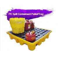 China Two Drum Spill Decks Containment Pallets Heavy Duty For Oils / Chemicals wholesale