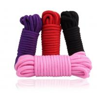 China 5m 10m Long Cotton Bondage Sex Rope for Adult Sex Toys to Restraint Hands Legs Body wholesale