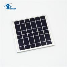 China 6V 4W transparent mini solar panels for mobile solar charger ZW-4W-6V-1 solar panel photovoltaic wholesale