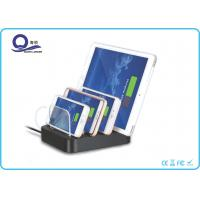 China 30W 4.8A Multiple USB Charger , Desktop Charging Station Organizer with 4 Ports wholesale